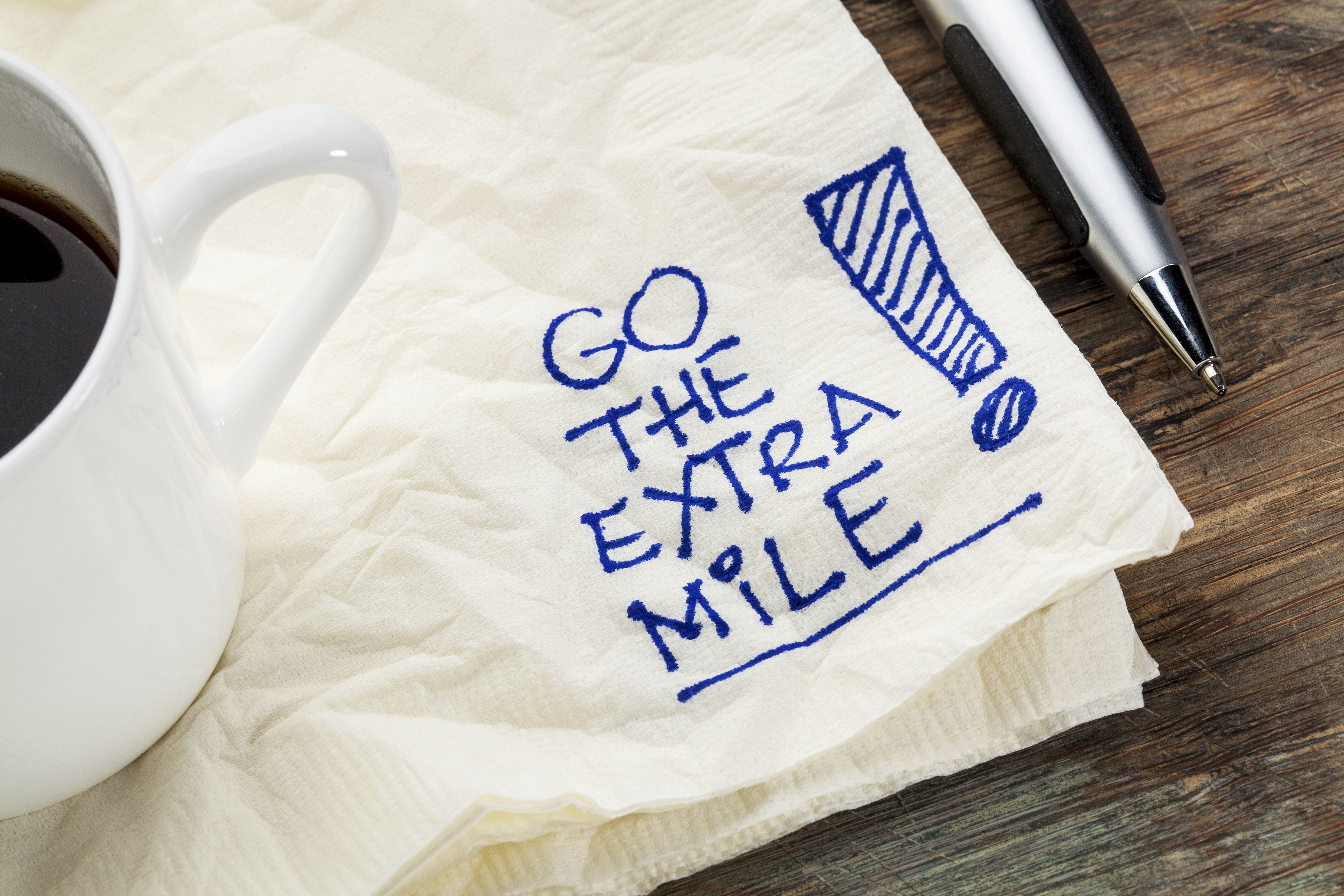 Four Ways to Go the Extra Mile and Get Hired