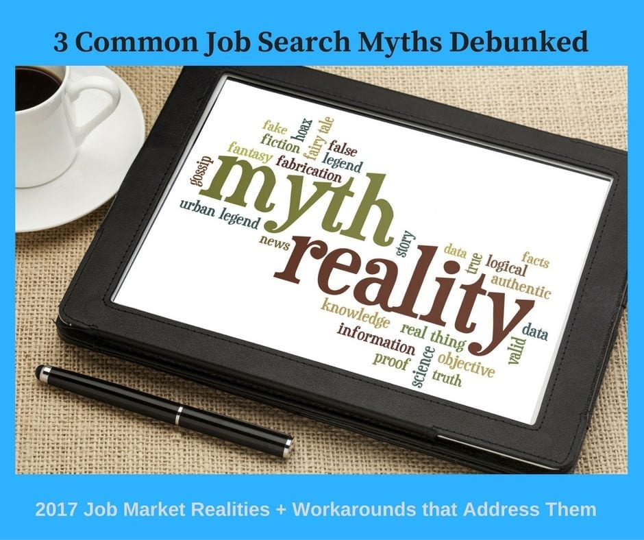 2017 Job Search Realities -- Workarounds from a writer for top resume companies