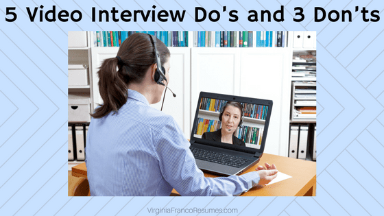 5 Video Interview Dou0027s And 3 Donu0027ts